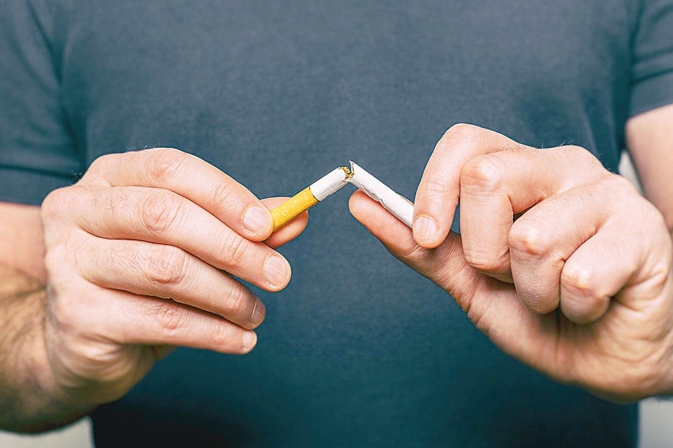 吸煙也會造成動脈粥狀硬化。所以要健康先戒煙。