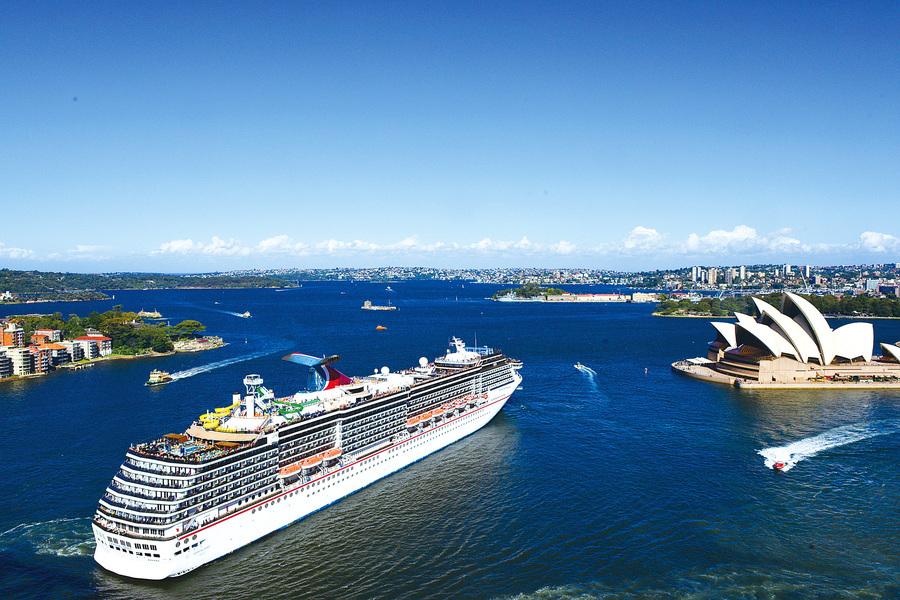 海上度假村 澳洲嘉年華精神號郵輪之旅