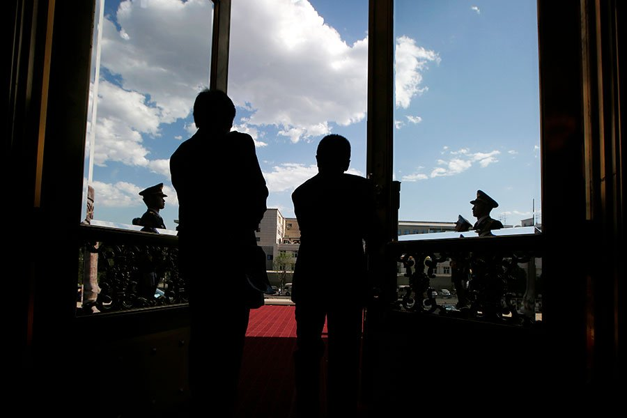 今年當局「兩會」通過了中共國務院機構改革方案,國務院部門由25個增至26個。(Aly Song – Pool/Getty Images)