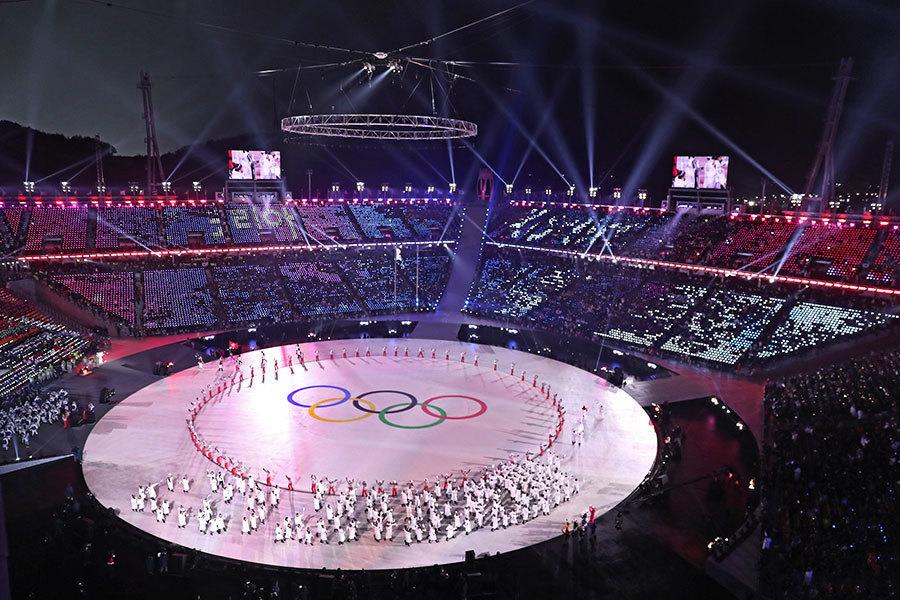 核陰影下平昌冬奧會揭幕 史上最大規模