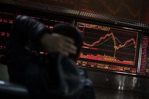 滬指下跌4% 本周跌近一成 創兩年多最大跌幅