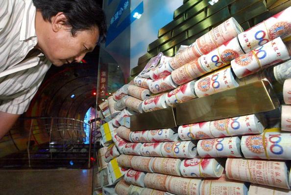 中國大陸金融界亂象叢生。(Getty Images)