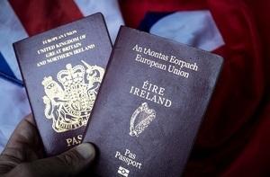 脫歐效應:申請愛爾蘭護照的英國人增三倍