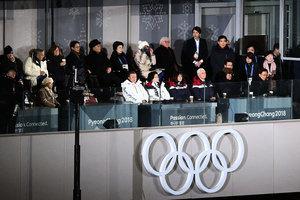 冬奧會排位 金正恩妹妹出鏡 韓正被邊緣化