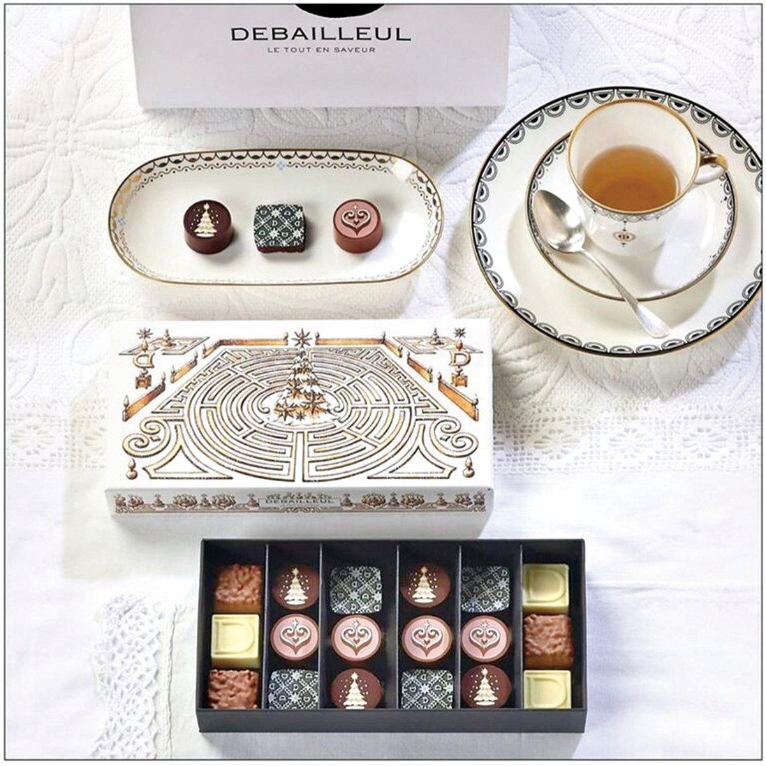 德巴約勒(Debailleul)朱古力被譽為貴族級的甜品,由享有「法國最佳工藝大師」之名的Marc Debailleul所創立。