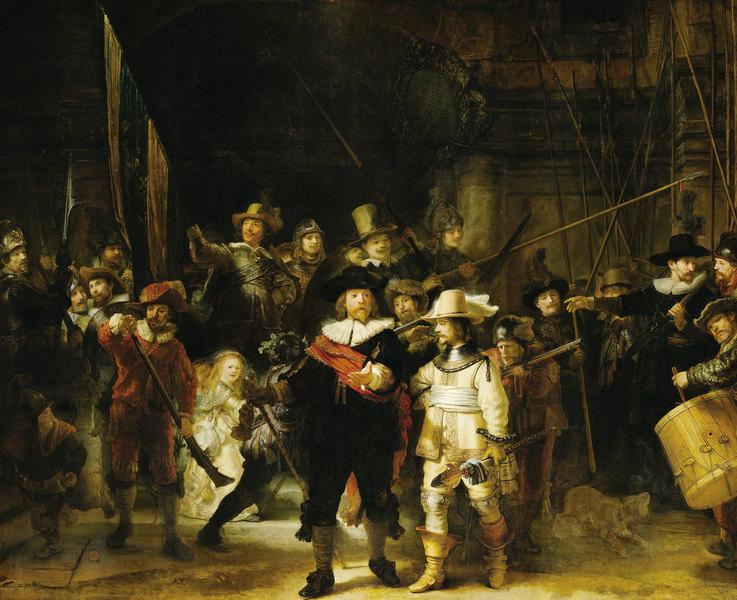 藝術的時空之旅:黑暗與光明