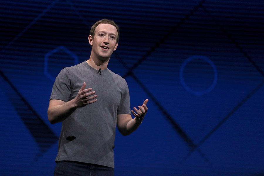 Facebook創始人兼行政總裁馬克・朱克伯格(Mark Zuckerberg)是鎂光燈下的名人,他的日常生活也備受關注。(Justin Sullivan/Getty Images)