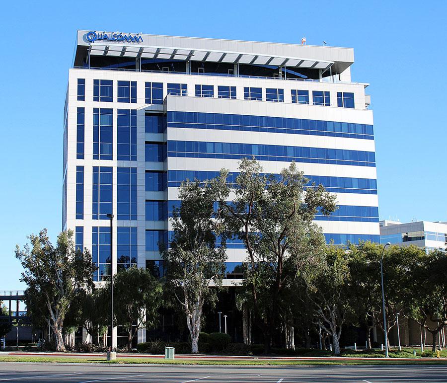 高通在聖地牙哥的總部。(Coolcaesar/Wikimedia Commons)