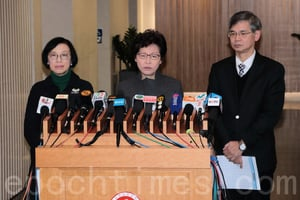林鄭宣佈取消年初二煙花