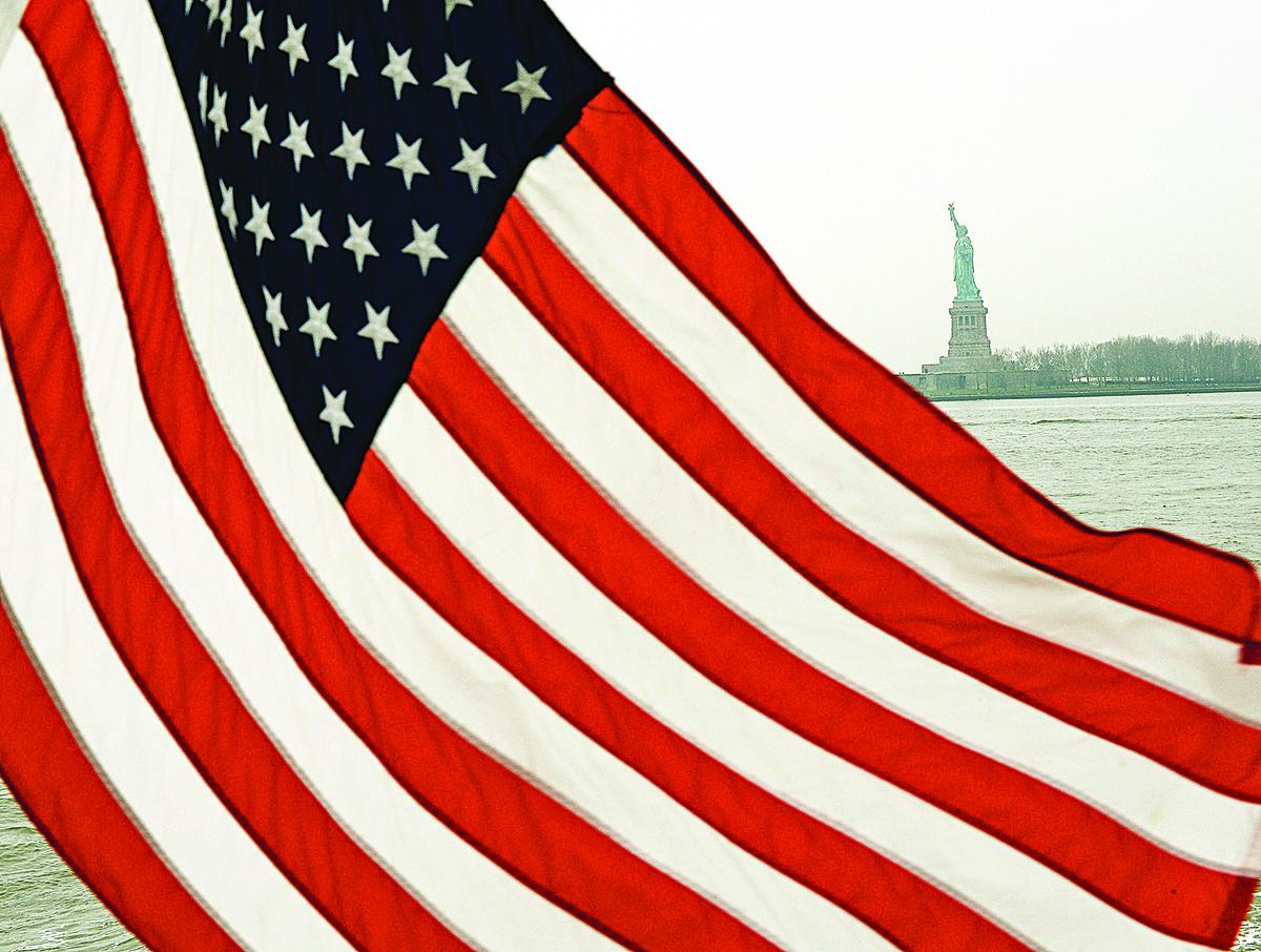 美國的經濟「繁榮」和美國的國父們的建國理念聯繫密切。(Getty Images)