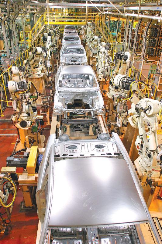 美國製造業呈「復甦」跡像。(Getty Images)