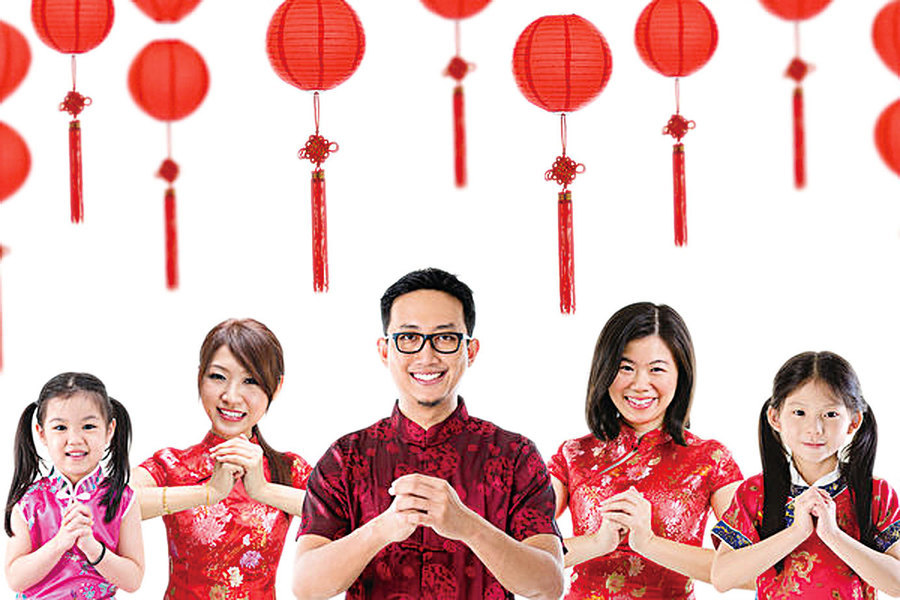 年青人看中國傳統新年