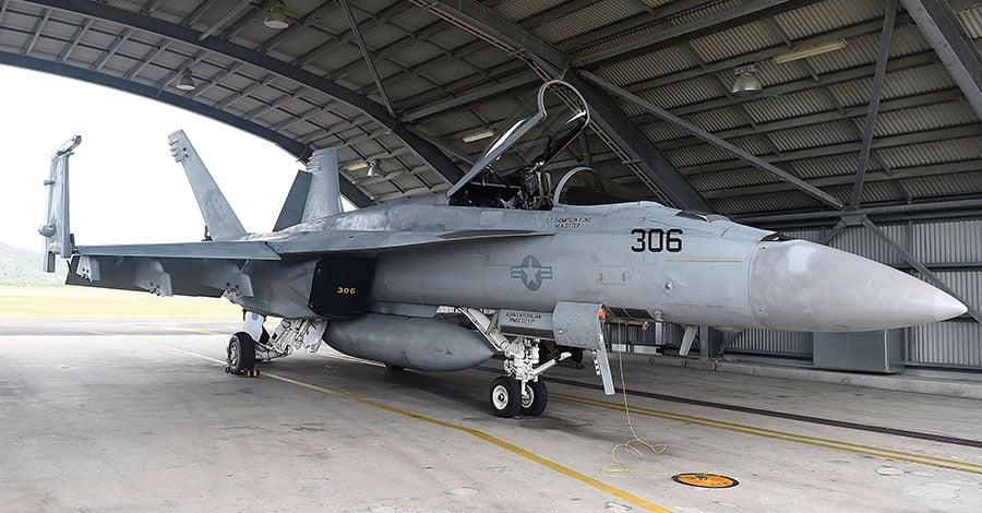 傳將採購美大黃蜂 台空軍未確認