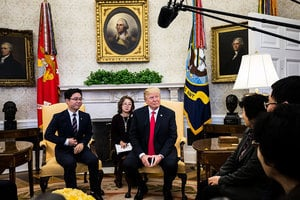 脫北者:特朗普在切實努力改善北韓人權狀況