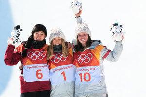 冬奧會 韓裔美籍17歲天才少女單板滑雪摘金