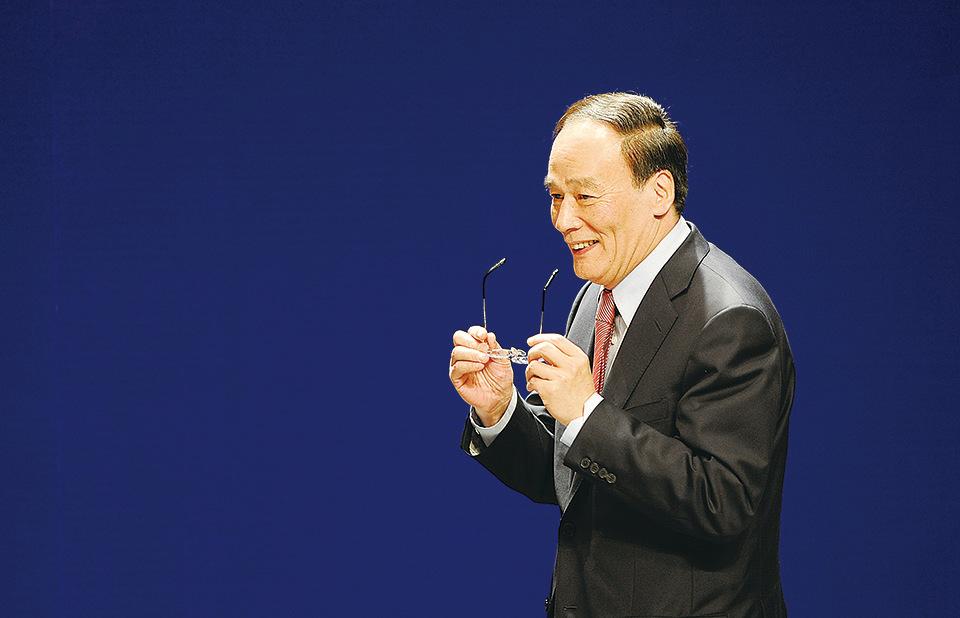 北京當局2月13日發佈的慰問退休高層人員名單中,沒有王岐山的名字,或進一步佐證了王將重返政壇。(Getty Images)