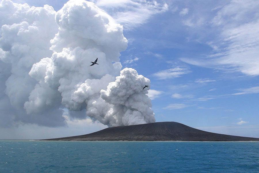 日本發現巨大火山穹丘 若爆發恐致1億人死