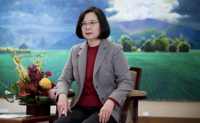 蔡英文除夕談話 向全球華人賀新年