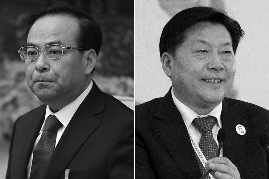 孫政才遭雙開以來,《重慶日報》抨擊他「當太平官,做兩面人」。(Getty Images/大紀元合成)