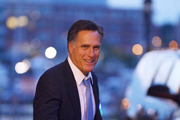 前美總統候選人羅姆尼角逐猶他州參議員