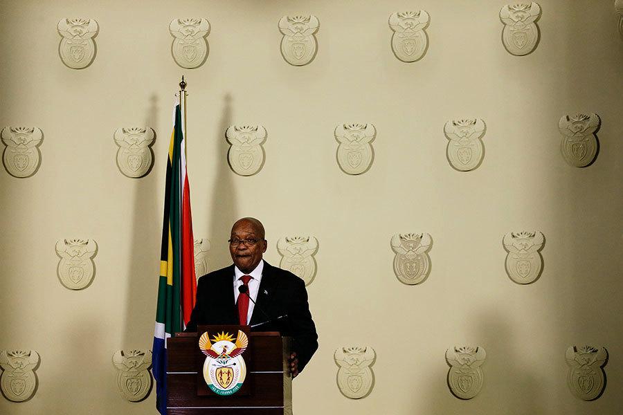 南非總統祖馬下台 結束戲劇性的政治生涯