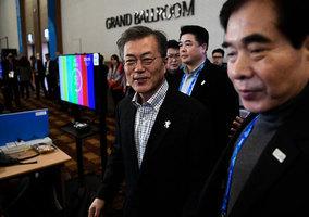 文在寅:談論南北韓首腦會談還為時過早