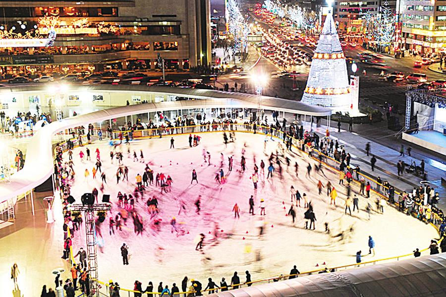 樂享南韓冬季溜冰&雪橇之趣