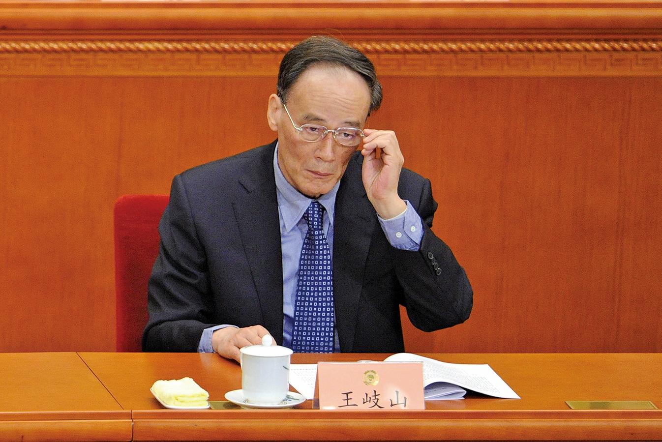 中國新年前夕,已卸任政治局常委的王岐山未列入最新「老同志」名單,外界聚焦王岐山將在兩會上出任要職,或負責中美關係等敏感事務。(Getty Images)