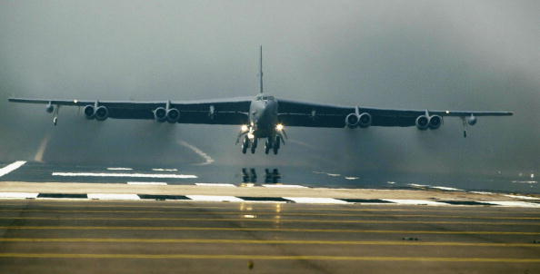 美國空軍B-52轟炸機。(Getty Images)