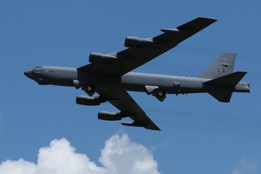 正在服役的B-52H型戰略轟炸機。(美國空軍網站)