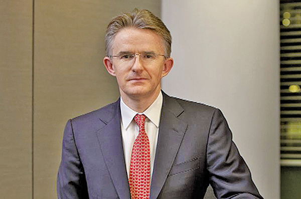 年僅49歲、零售銀行及財富管理行政總裁范寧接任滙控(005)執行董事及集團行政總裁,並2月21日生效。(網絡圖片)