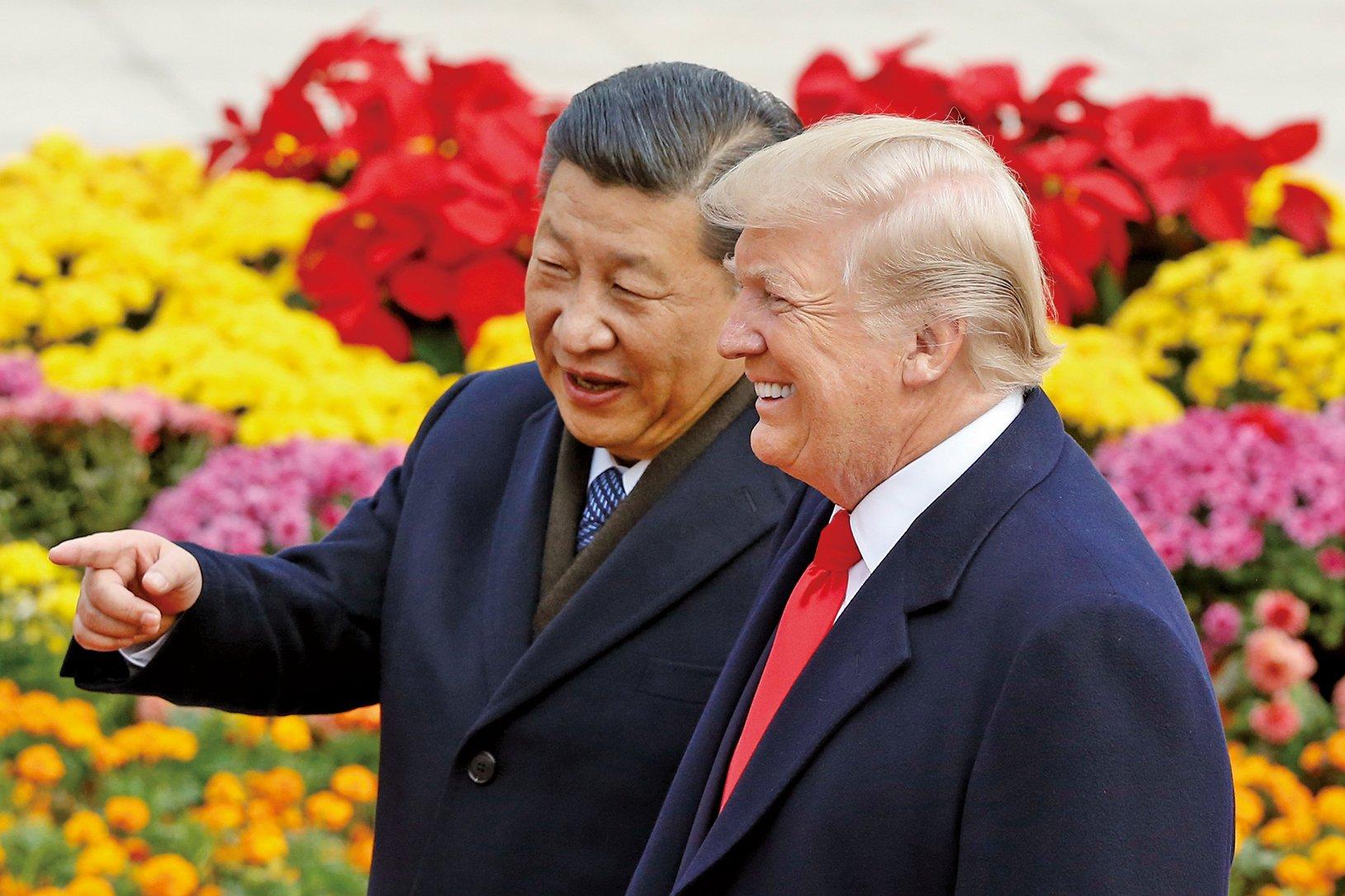 有消息指,習近平更想知道,美國總統特朗普是否是真的考慮對北韓採取軍事行動。(Getty Images)