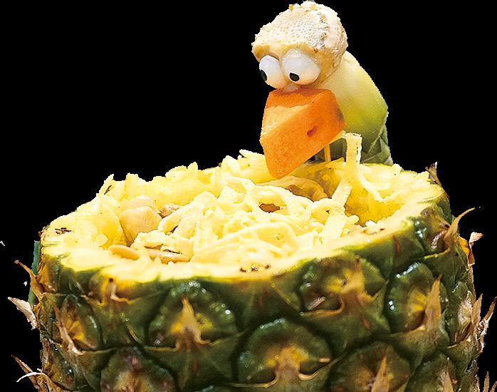 好得意嘅菠蘿炒飯