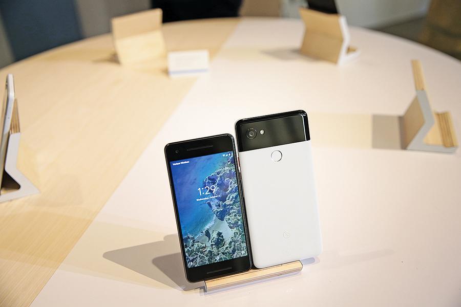 谷歌去年 賣出390萬Pixel手機 不及Nokia一季銷量