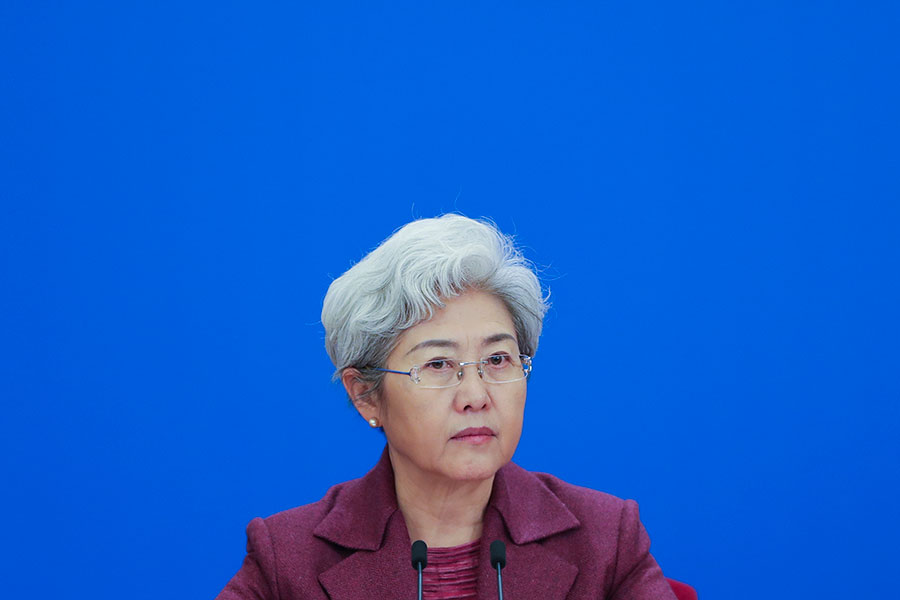 圖為傅瑩資料圖片。(Lintao Zhang/Getty Images)