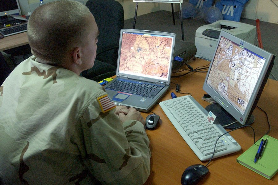 美國《外交政策》雜誌稱,美國政府正在為對北韓發動網路攻擊做準備工作。圖為示意圖。(SHAH MARAI/AFP/Getty Images)