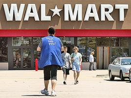 業績差 沃爾瑪股價重挫逾10%