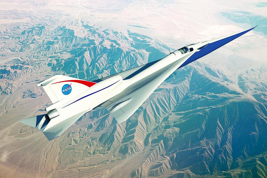 NASA研製低噪聲超音速客機