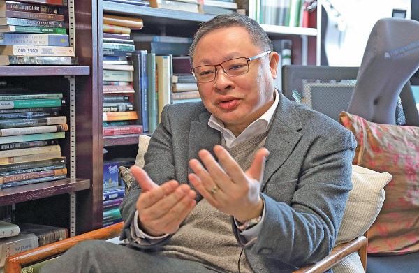 戴耀廷:護法治要港人發聲