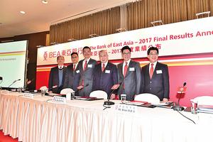 東亞料大陸業務轉虧為盈 錄得盈利3.18億