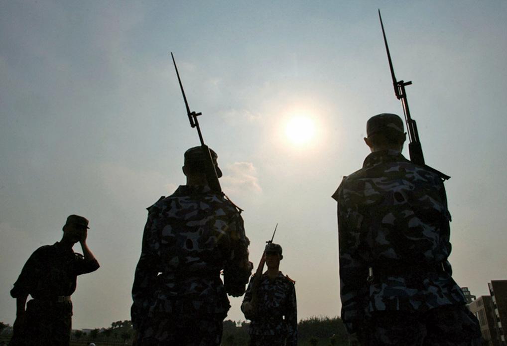 習近平曾指出中共全軍的最大問題是「打不了仗、打不了勝仗」,有的問題是致命的。間接洩露了中共軍隊有多腐敗。(Getty Images)