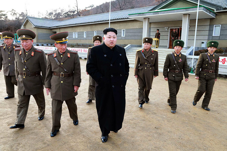 韓媒:索賄不成 金正恩禁衛軍士兵攻擊高官