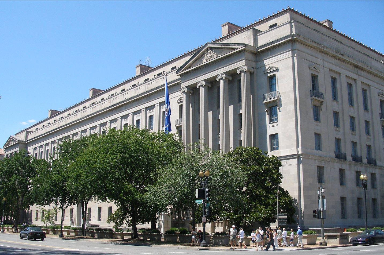 美國聯邦司法部表示,馬洛里案顯示中共千方百計想獲取美國的機密情報。而此案破獲也打擊了威脅美國安全的中共間諜活動。圖為美國司法部大樓。(Wikimedia commons)