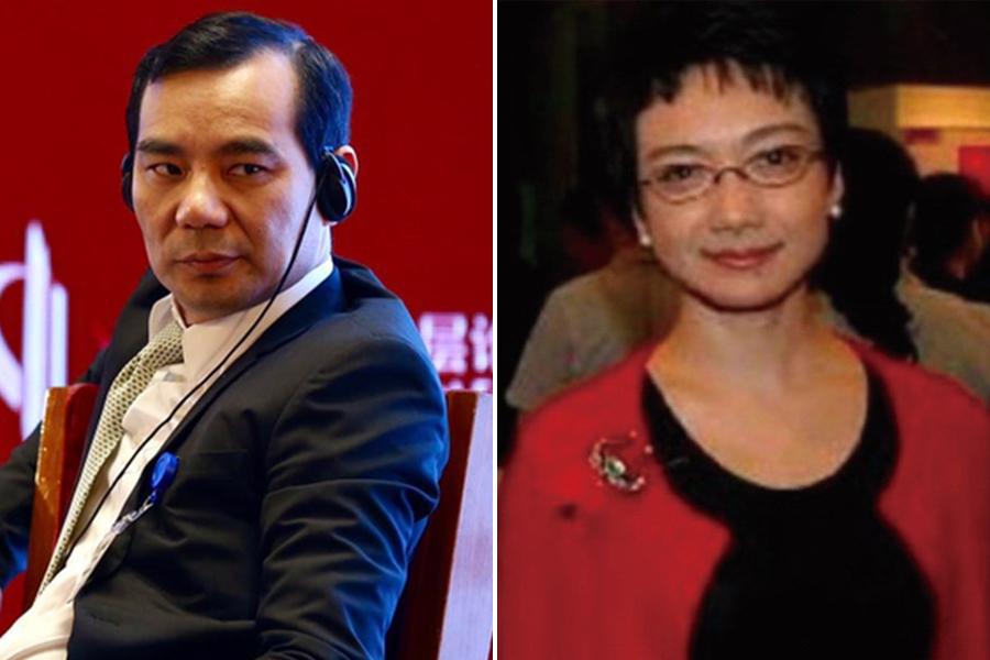 英媒披露,吳小暉被帶走前後,與鄧小平外孫女鄧卓苒離婚。(大紀元合成圖)