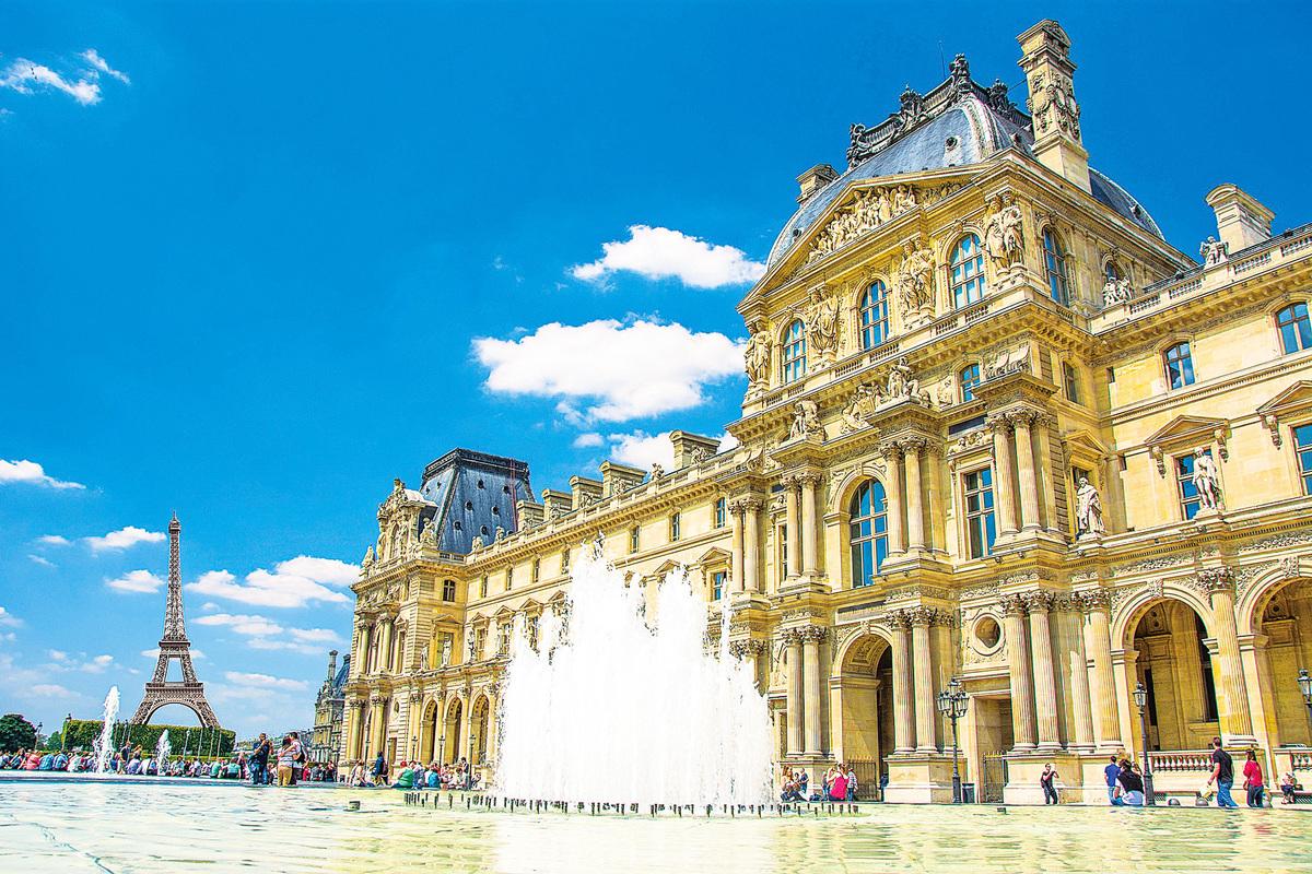 法國巴黎羅浮宮。