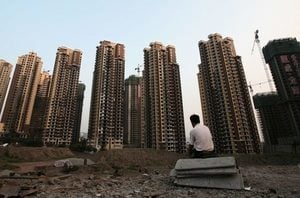 大陸一線城市32個月房價首降 樓市拐點來臨?