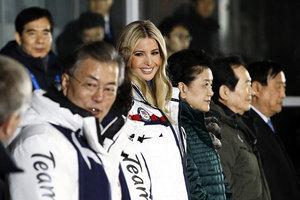 冬奧閉幕儀式上伊萬卡沒睬北韓特務頭子