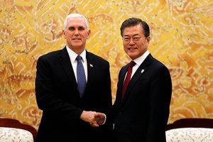 韓促美朝會談 白宮:朝鮮半島無核化是目標