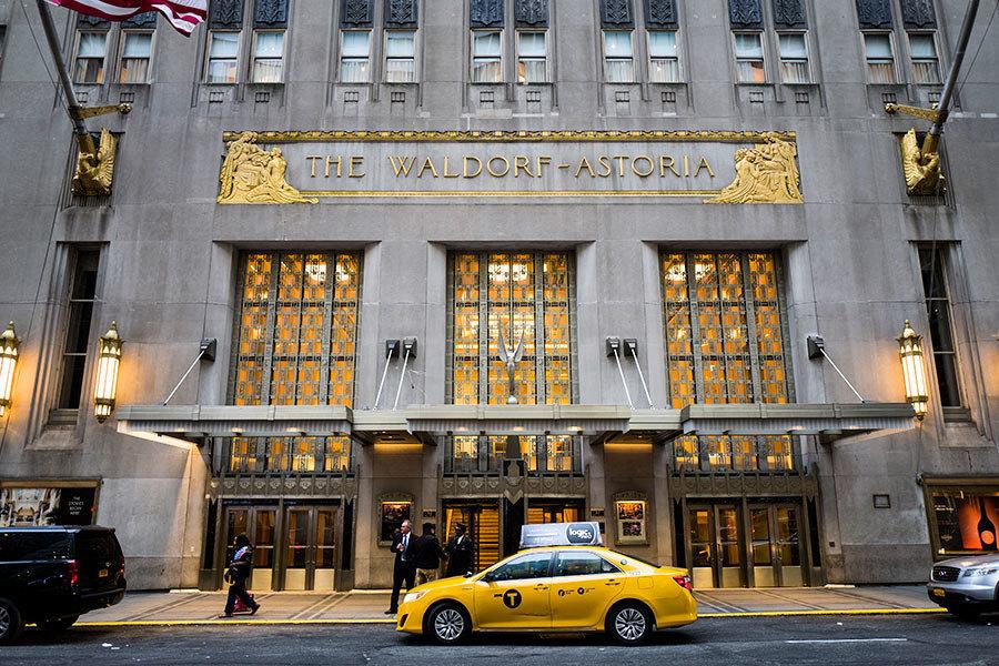 紐約地產瘋傳中共賠錢賣華爾道夫酒店