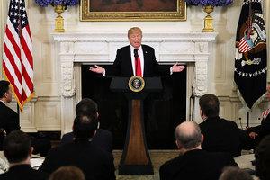 特朗普:在正確的條件下 才會與北韓對話